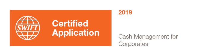 SWIFT Certified Application Cash Management for Corporates 2019